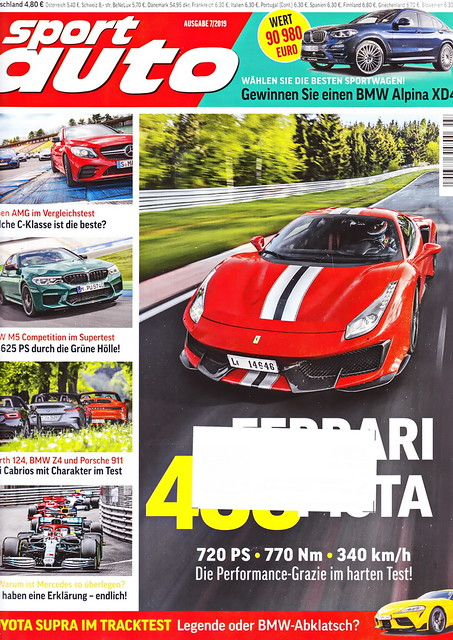 sport auto - 2019-07 - cover