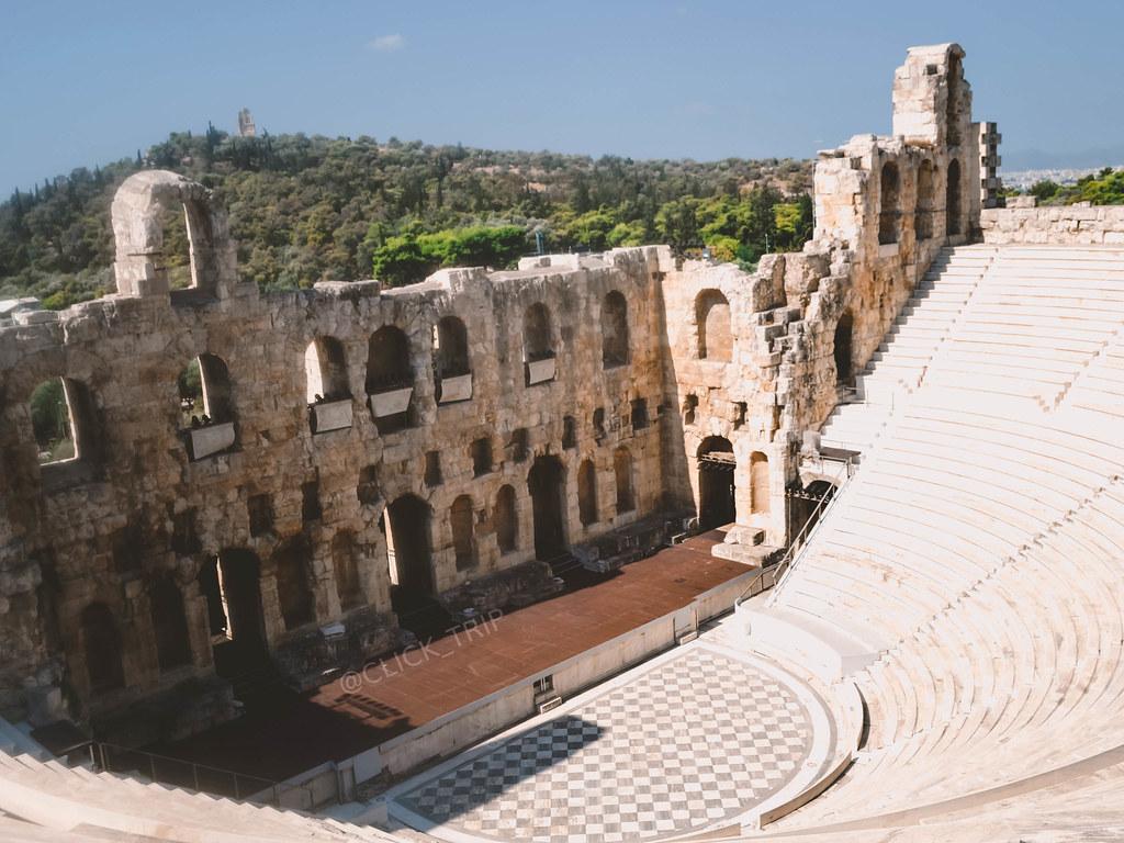 · Teatro Odeón de Herodes Ático · ¿Qué ver en la Acrópolis de Atenas? · Ruta por Grecia ·