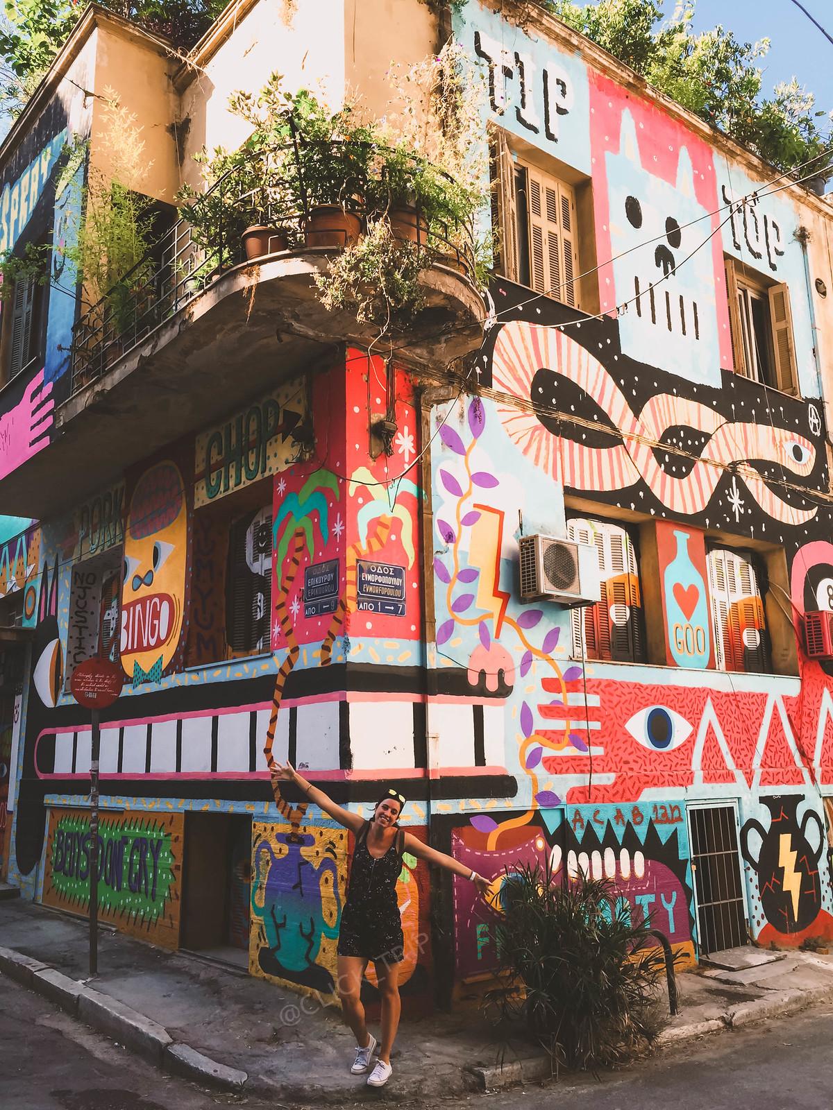 Rincones de Atenas   Arte Callejero en la cpaital de Grecia   ClickTrip