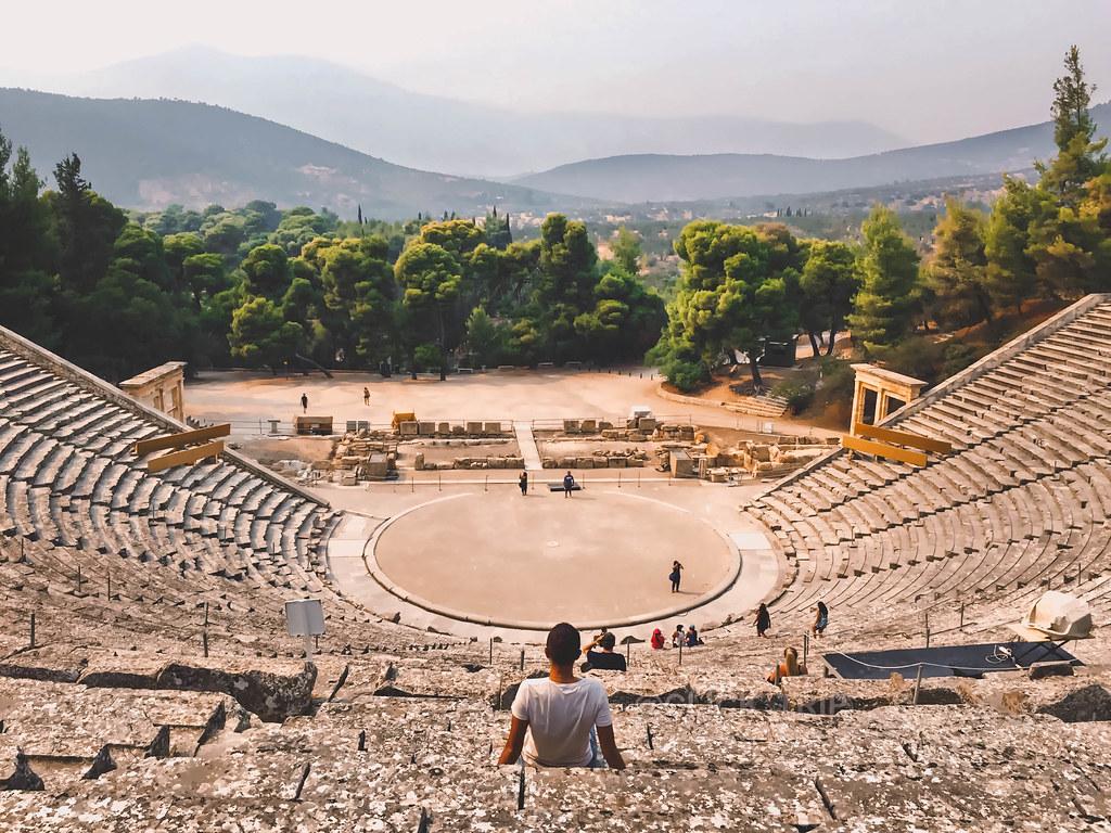 Teatro Epidauro | Ruta por Grecia | Peloponeso