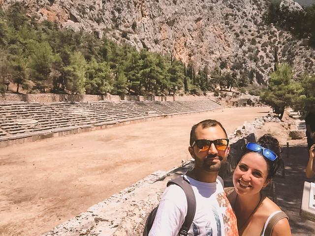 · Estadio de Delfos · Oráculo de Delfos · Grecia · Click_Trip ·