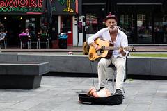 Straatmuzikant Rembrandtplein