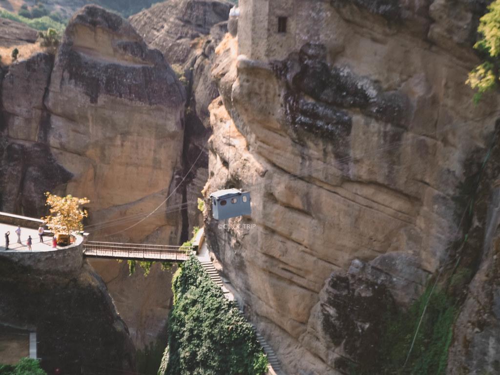 · Monasterios de Meteora - Cómo llegar a Meteora - cabinas ·