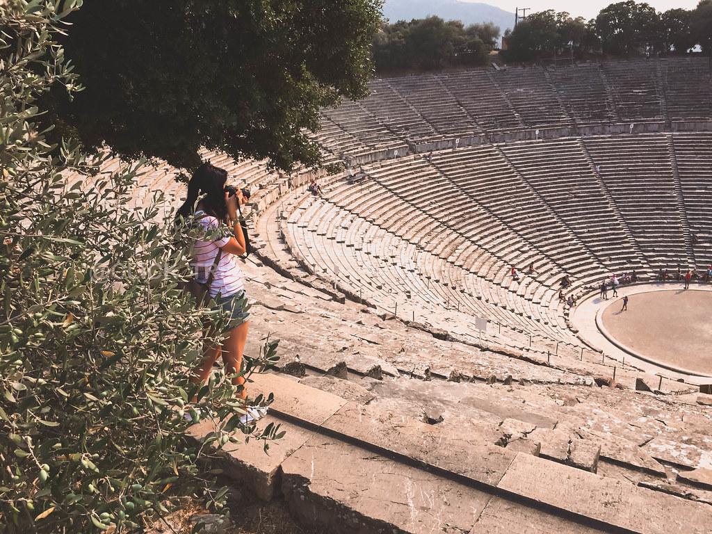 La belleza del Teatro Epidauro | Grecia continental | Ruta por el Peloponeso