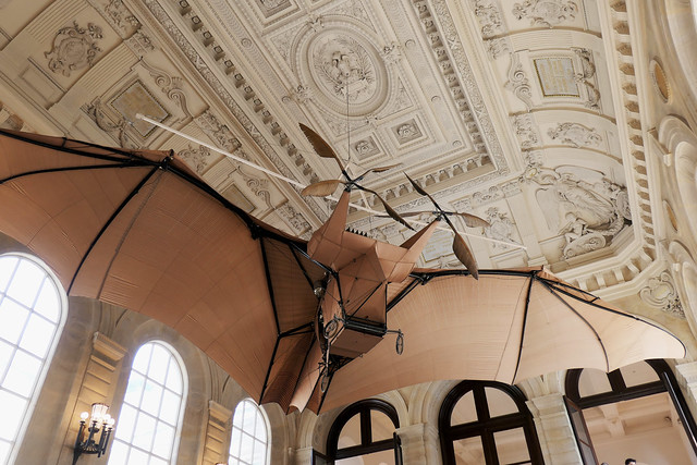 Clément Ader's airplane, called