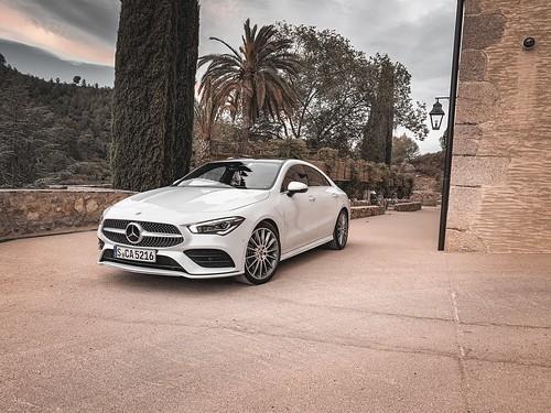 Essai Mercedes CLA Coupé