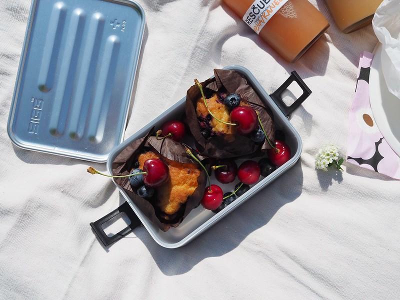 Vuohelan herkku gluteenittomat mustikkamuffinssit
