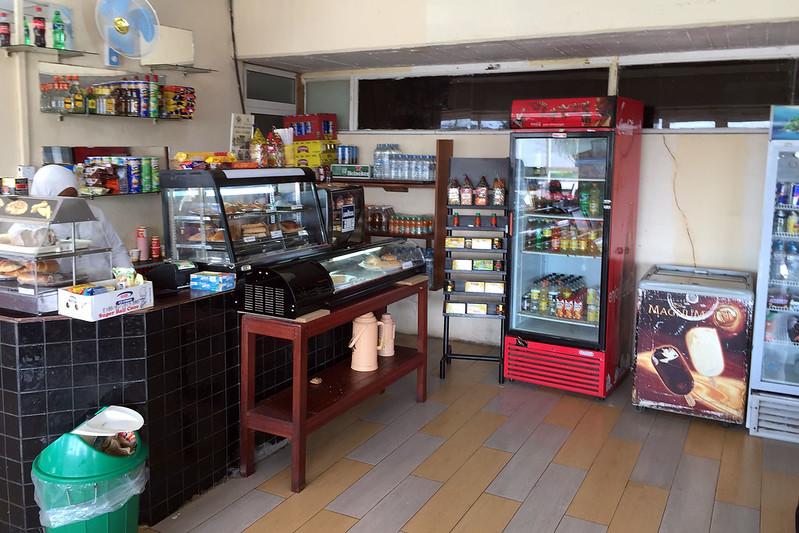 Zanzibar Airport snack bar