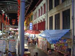 49 Singapore; Chinatown, Moon Festival 2006