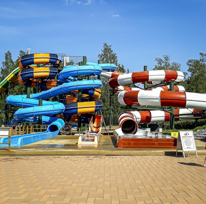 Tykkimäen huvipuisto Kouvola Tykkimäki Aquapark vesiliukumäki_