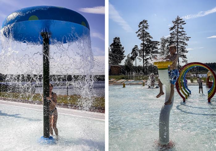 Tykkimäen huvipuisto Kouvola Tykkimäki Aquapark altaat aktiviteeti lapsille altaan syvyys