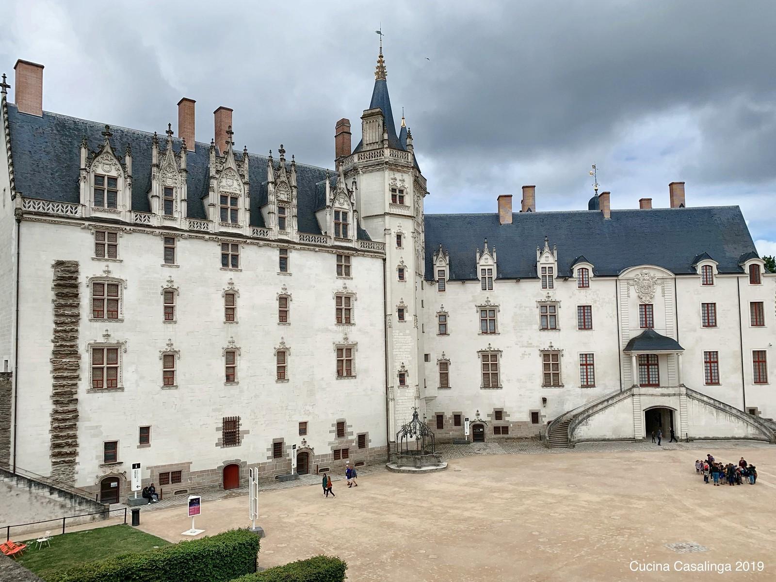 Nantes - Chateau de ducs - Innenhof