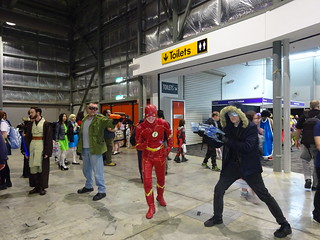 The Flash in trouble?