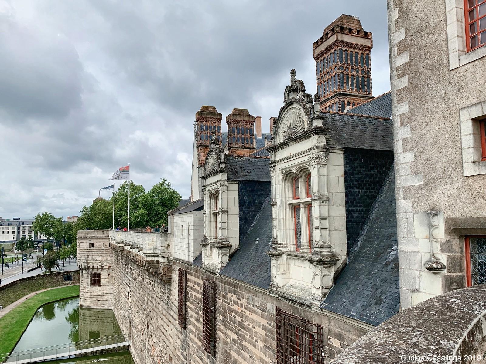 Nantes - Chateau de ducs - aussen