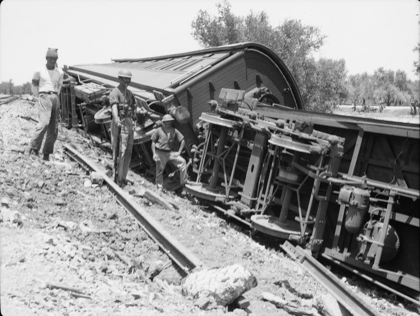 15. Кфар-Йона. Железнодорожная катастрофа