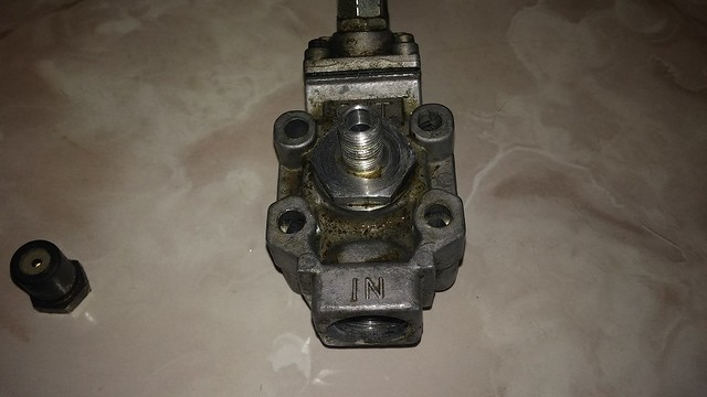 Original oven safty valve.