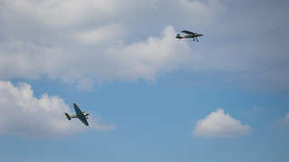 JU-52 and Storch
