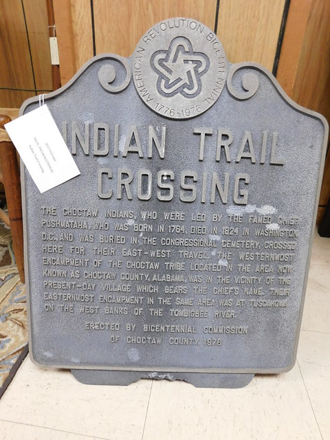 Indian Trail Crossing Historic Marker