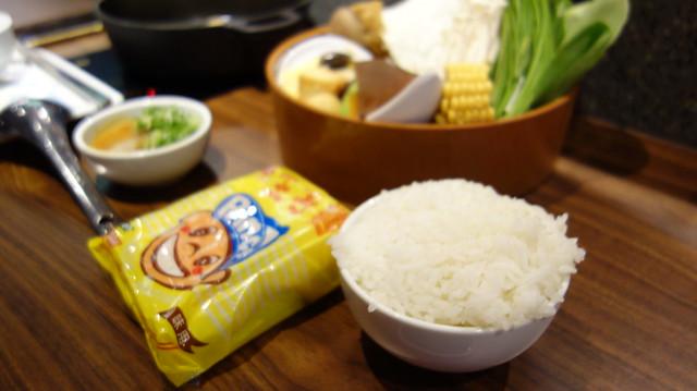選了王子麵與白飯@這一小鍋誠品南西店