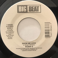 ROBIN S.:LOVE TO LOVE(LABEL SIDE-B)