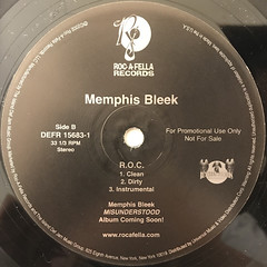 MEMPHIS BLEEK:1,2 Y'ALL(LABEL SIDE-B)