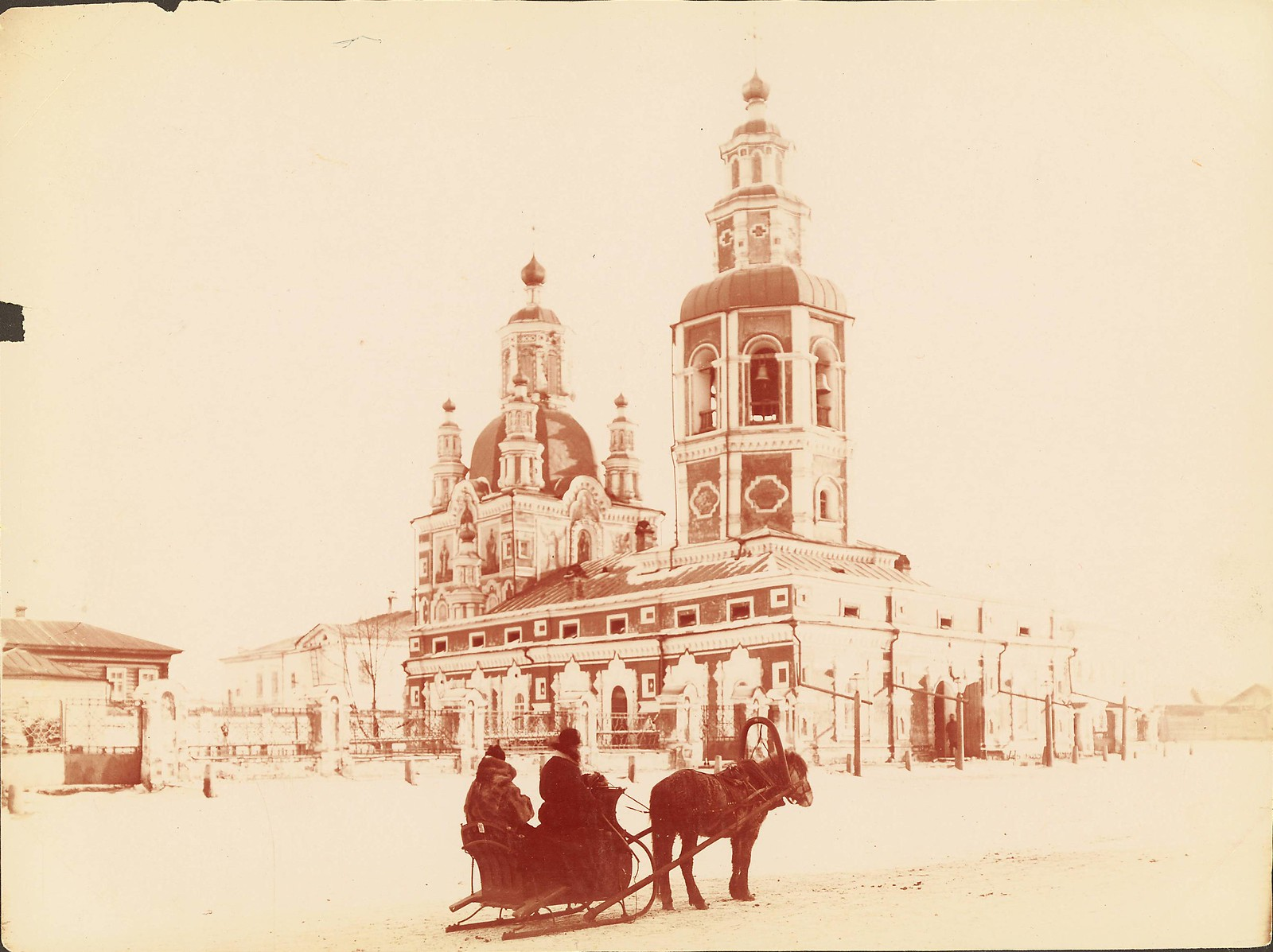 Красноярск. Покровский собор