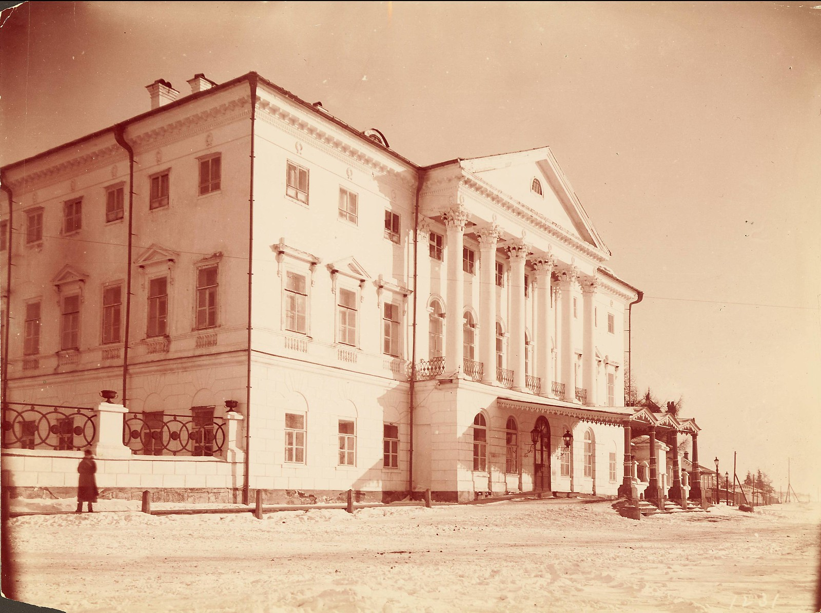 Иркутск. Резиденция генерал-губернатора