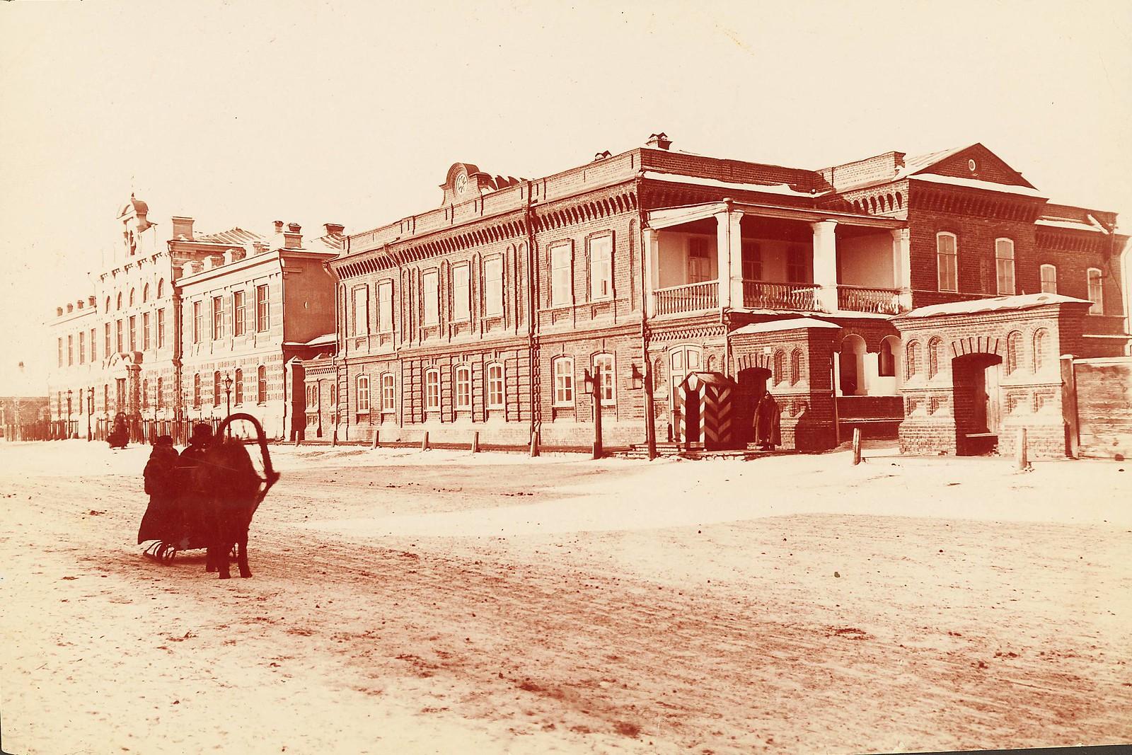 Красноярск. Жилые и служебные помещения губернатора генерала Стретенского на Благовещенскойулице