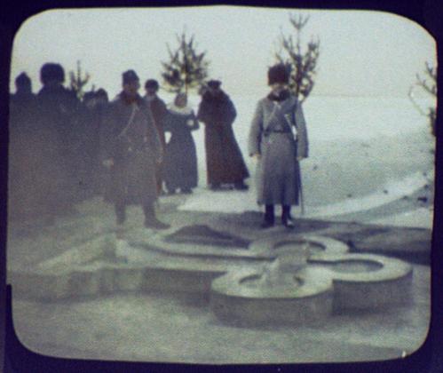 Иркутск. Православный обряд погружения креста на Ангаре