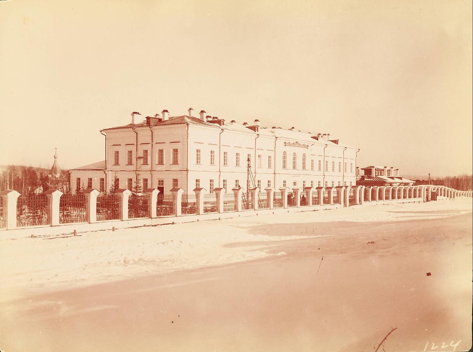 Иркутск. Ивано-Матрёнинская детская больница