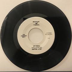 RAPPIN' 4-TAY:AIN'T NO PLAYA(RECORD SIDE-B)