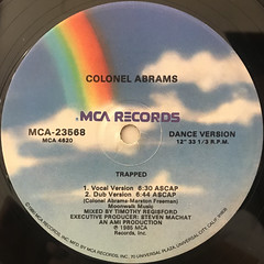 CORNEL ABRAMS:TRAPPED(LABEL SIDE-B)