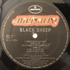 BLACK SHEEP:NORTH SOUTH EAST WEST(LABEL SIDE-B)