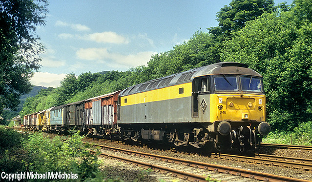 Sunday Engineers Train Near Hebden Bridge (Michael McNicholas)