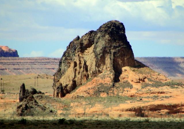 Rock Formations - Near Kayenta, Arizona