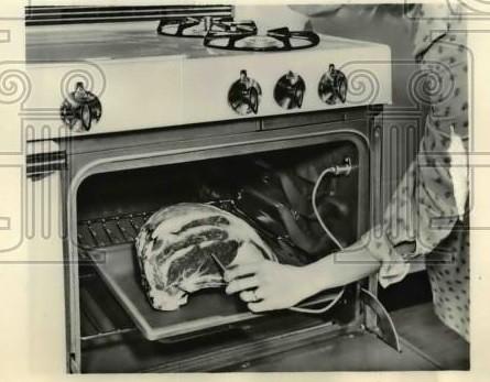 Caloric meat probe.