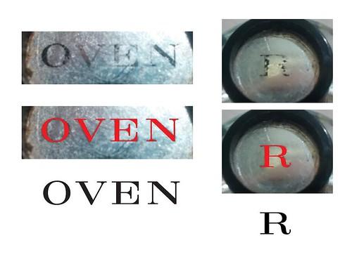 Knob fonts.