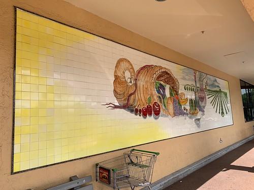 publix tile mural sunrise grocery store supermarket welleby plaza mosaic art ati mills roadside architecture pati