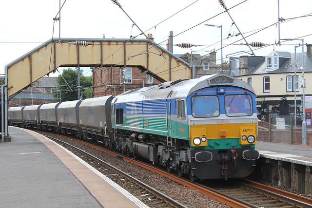 GB RAILFREIGHT 66711 SENCE