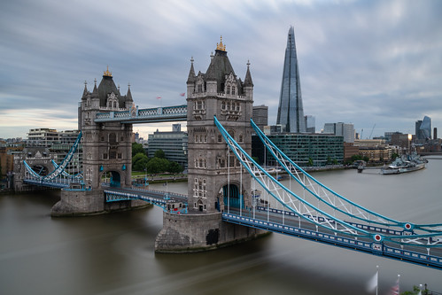 london towerbridge longexposure shard bridge outdoor nikond850 leefilters 10stopfilter