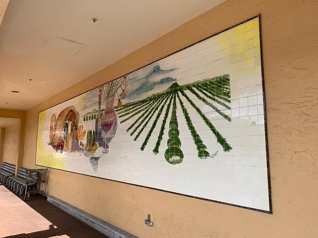 Publix Tile Mural Sunrise Florida