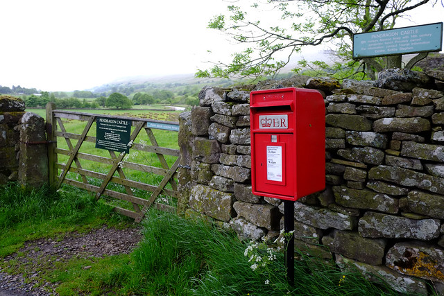 Cumbria..Rural  Pendragon Castle
