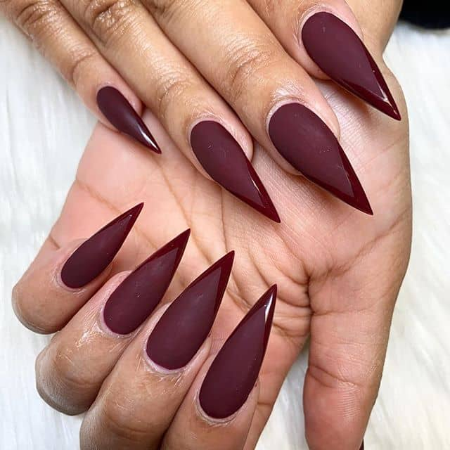 30 Cute Pointy Acrylic Nails that are Fun to Wear ...