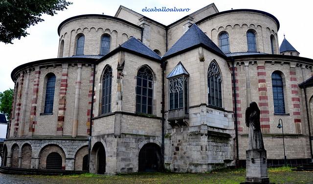 662 – Lateral - Iglesia St. Maria im Kapitol – Köln (Germany).