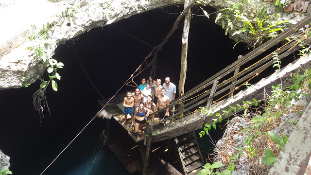 Cenote Group Photo