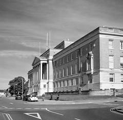 Photographs of Chesterfield using a Zeiss Ikon Nettax