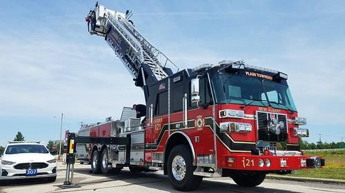 Ladder 121 Plain Township Ladder 121 City Of New Albany