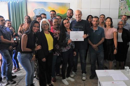 Vice-governador se reúne com a comunidade de Recanto das Emas