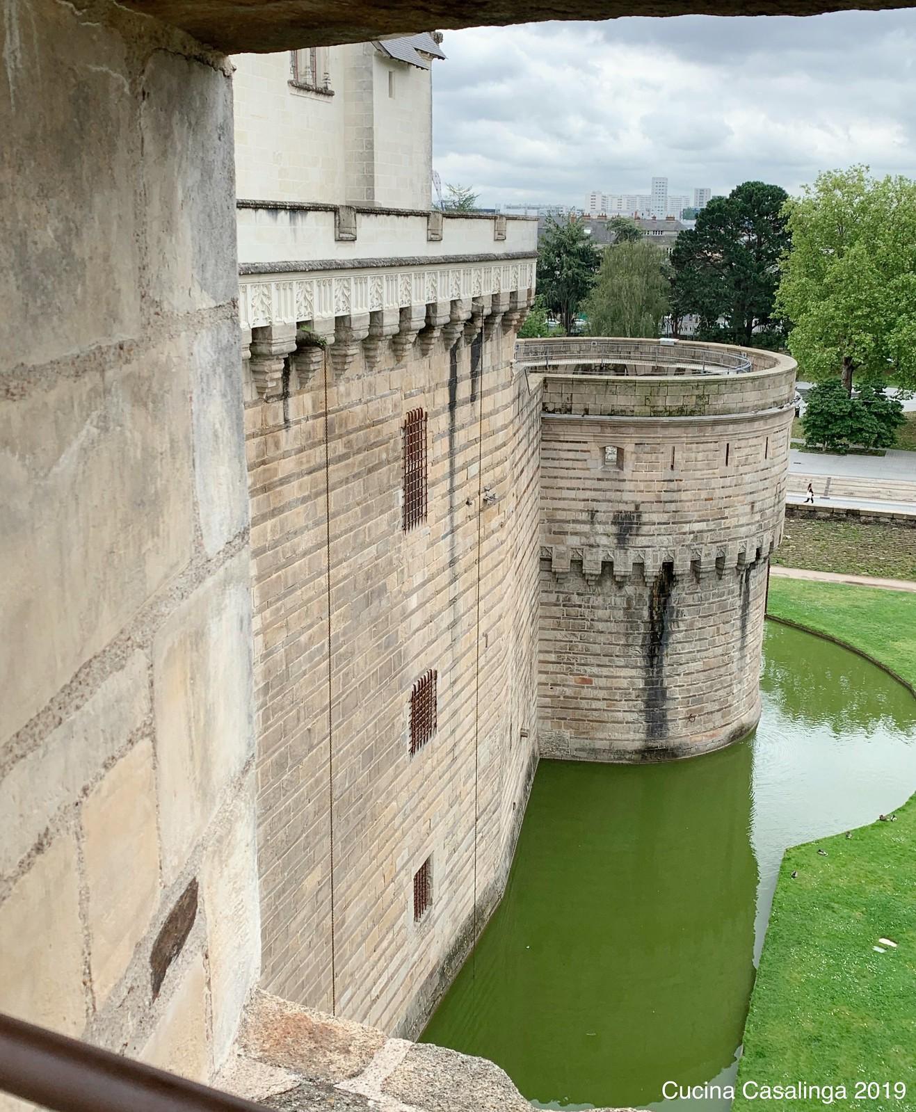 Nantes - Chateau de ducs - Burggraben
