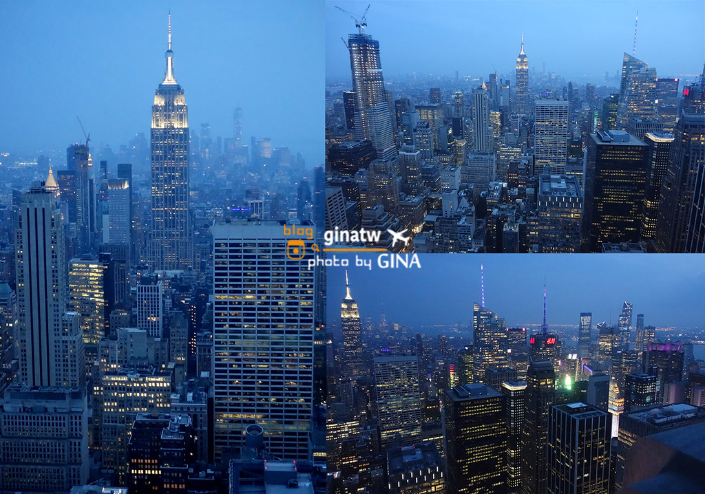 美東自由行》紐約必看夜景首選 洛克斐勒中心 Top of the Rock 觀景台 @Gina Lin